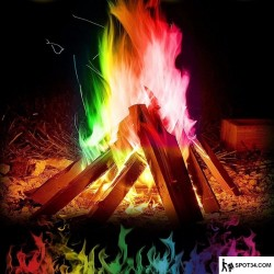 Toptan Renkli Kamp Ateşi Tozu